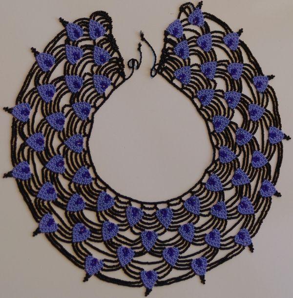 ecuadorian beadwork saraguro corazon de arana