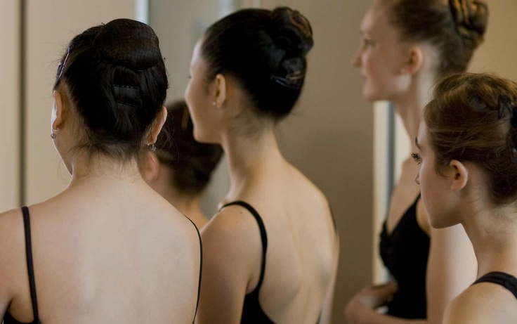 video of Tina LeBlanc showing her work at the San Francisco Ballet School