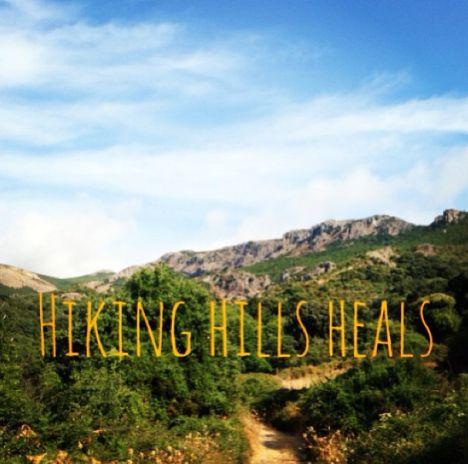 how hiking heals: http://www.sarahwilson.com.au/2013/09/how-hiking-heals/