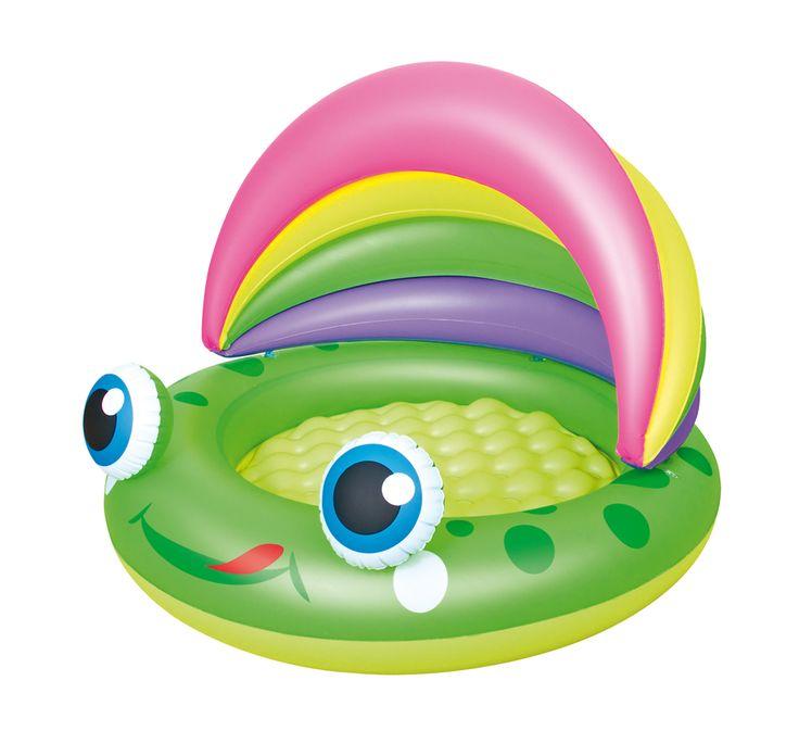 "Bestway 52188 Planschbecken ""Froggy Play"", 109 x 104 x 76 cm   PLANSCHBECKEN   POOLS & SPA   FREIZEIT   Kajak Kanu Elektromotor bei BeachandPool.de online kaufen"