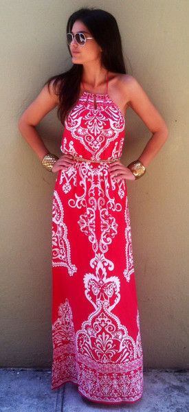 Lady In Pink Maxi $54