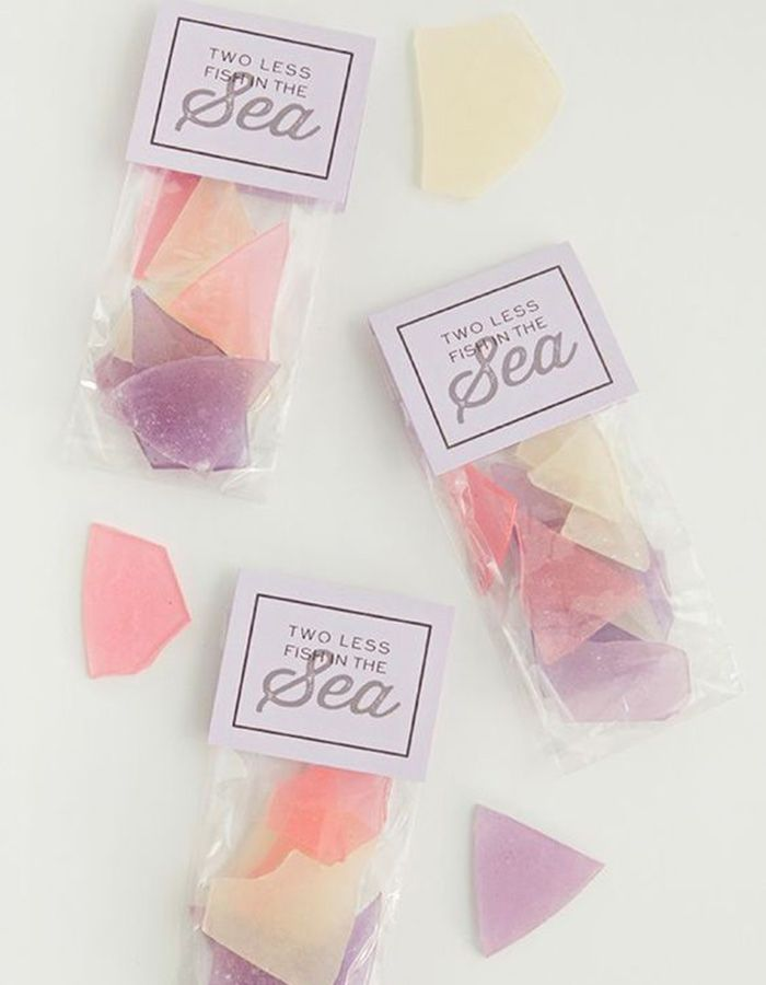 wedding favors ideas do it yourself%0A This is the best tutorial for how to make sea glass hard candy favors