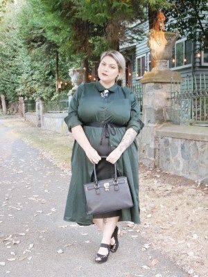 Back To Business with Universal Standard | Plus Size Fashion for Edgy Women | Margot Meanie's Weird Grrl Gang