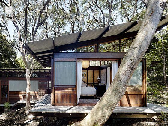 日本の古民家風のデザイン…レトロな和モダンハウス in オーストラリア