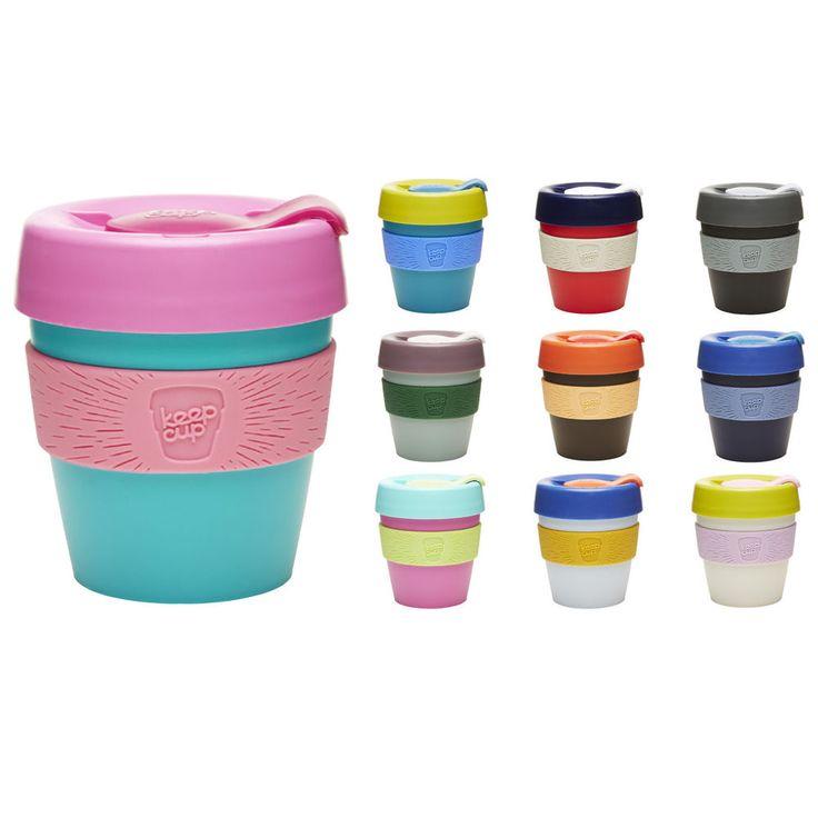 Keep Cups Reusable Plastic Coffee Cup 2014 Range - Take away style travel mug