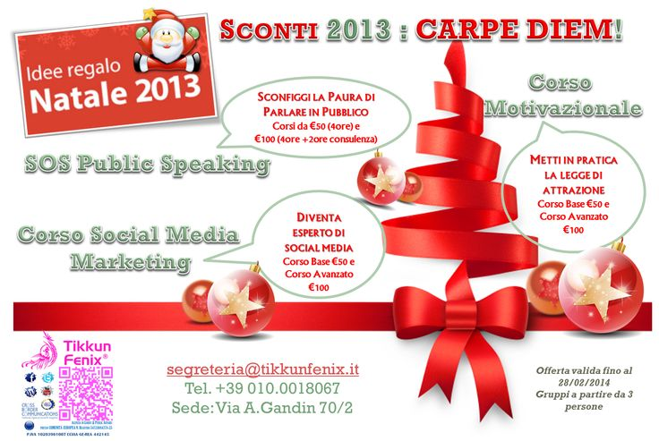 No ideas for christmass presents? Give a look on tikkunfenix promotions! #xsmass2013 #presents #sales #ideeregalo #natale 2013
