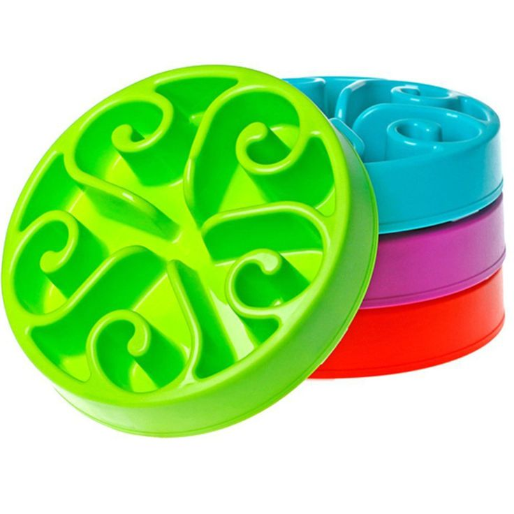 A great dog bowl to prevent your dog from eating too quickly. Only $17.95 at The Pet Habitat Store