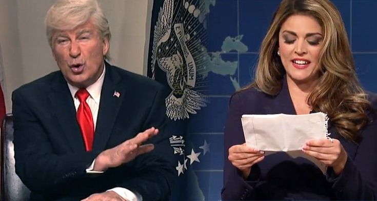 Alec Baldwin Mocks Trump With Hope Hicks Dig: 'She's like a daughter to me. So smart, so hot.' - Video