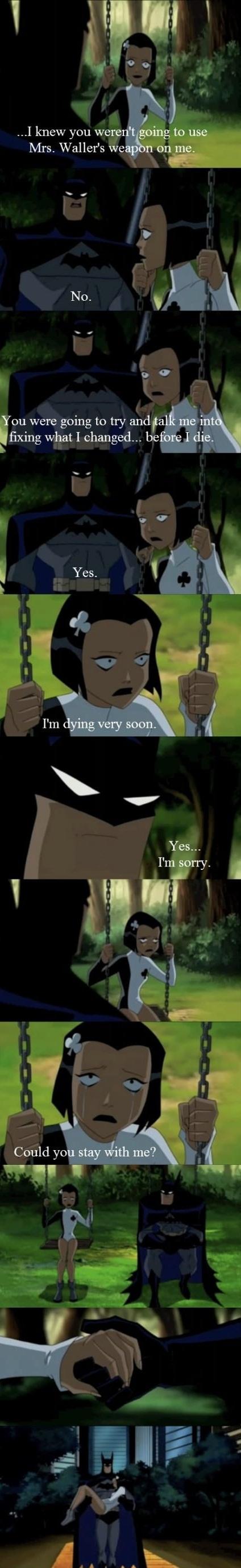Why I like batman