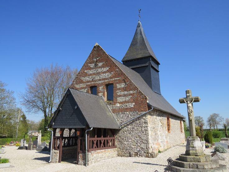 Visite commentée de l'église de Criquetot sur Longueville et exposition de peinture d'artistes locaux - A la découverte des églises de nos villages 2015