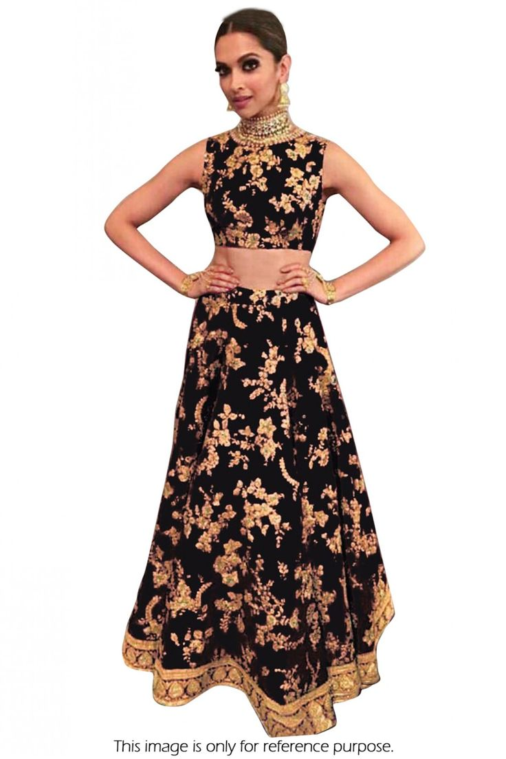 Black Colour Banglori Silk Fabric Party Wear Lehenga Choli Comes With Matching Blouse and Dupatta. This Lehenga Choli Is Crafted With Embroidery. This Lehenga Choli Comes As a Semi Stitched And Blouse...