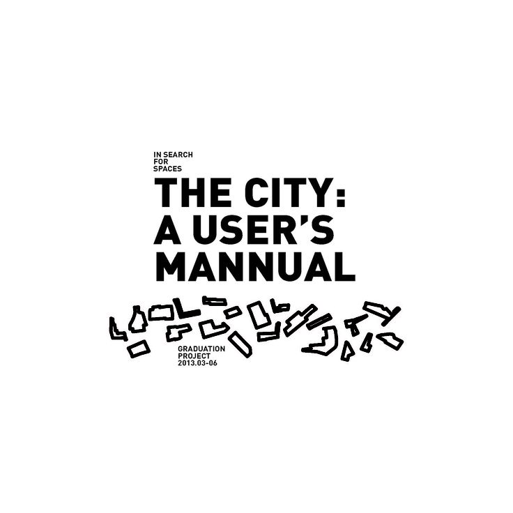 10 best the city:a user's mannual images on Pinterest