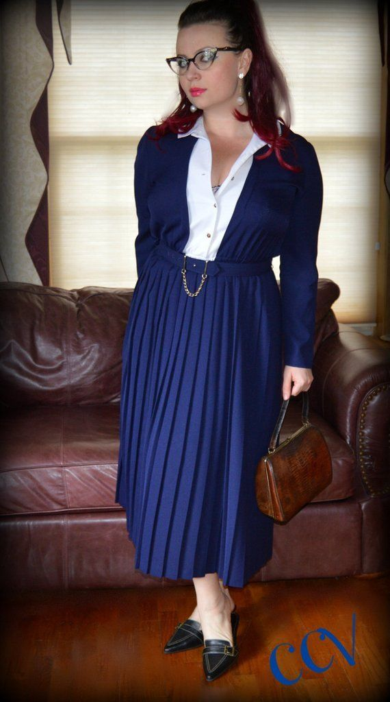 Virtuous Christian Ladies In Pleats Her Nice Pleated