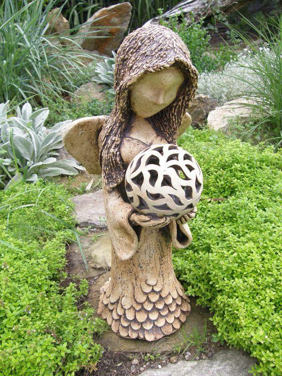Výsledek obrázku pro keramická lampa na zahradu