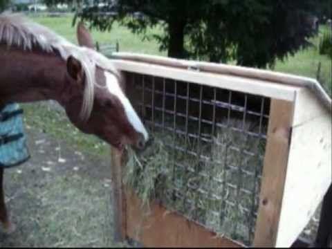 home made hay feeders for horses | Hay Feeders の動画検索 - 0km 【ゼロキロ】