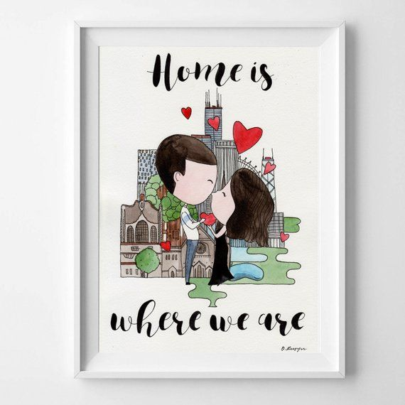 Custom Heart Shaped Portrait from Photo Personalized Gift for Boyfriend or Girlfriend Unique Wedding Gift Couple Gift DIY Painting Craft Kit