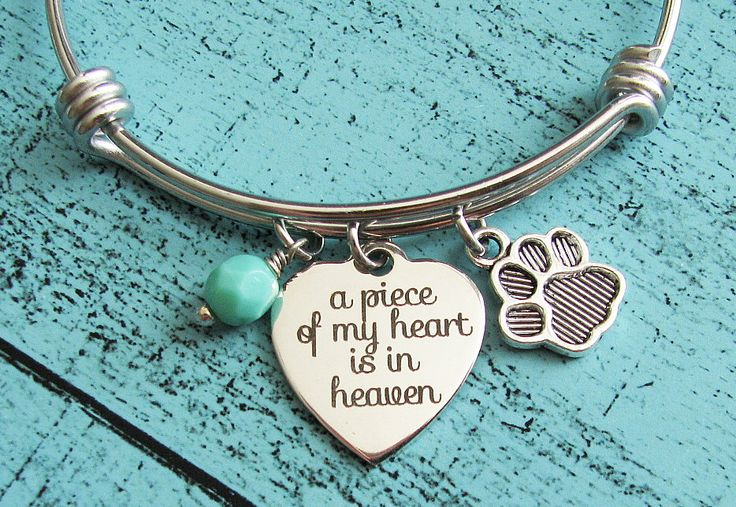 pet memorial jewelry, pet loss gift, sympathy gift, loss of pet memorial bracelet, cat memorial, dog memorial gift, pet bracelet loss of pet by KriyaDesign on Etsy https://www.etsy.com/listing/264308735/pet-memorial-jewelry-pet-loss-gift