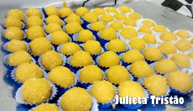 Docinhos para Festa - Minions - Culinária-Receitas - Mauro Rebelo