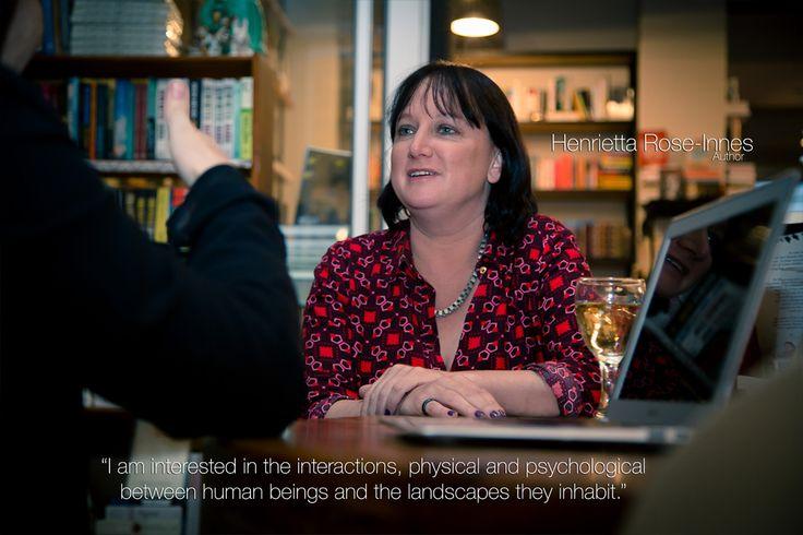 Author - Henrietta Rose-Innes