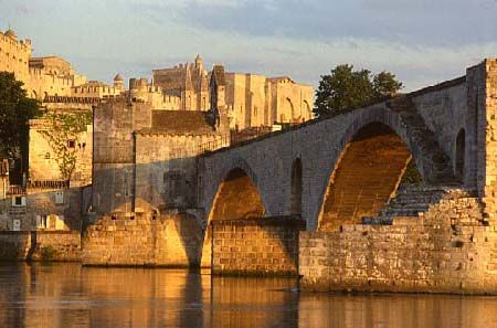 Divine summers in Avignon, a quaint town bordered by water and castle walls. My favorite late night crèpe stand I had the pleasure to visit is there.