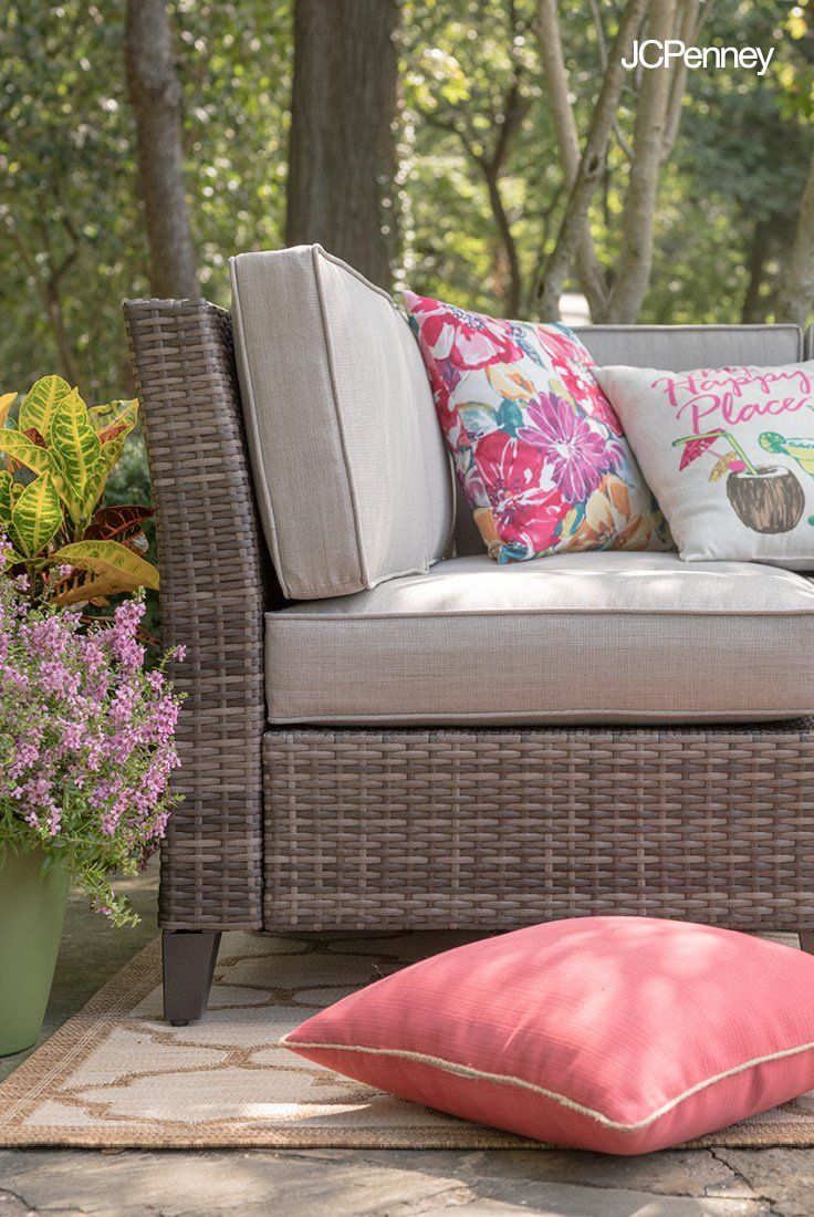 Warm Weather Calls For Poolside Parties And Backyard Patio Decorating Spruce Up Your Outdoor Space With Patio Furniture Sets Patio Furniture Patio Furnishings