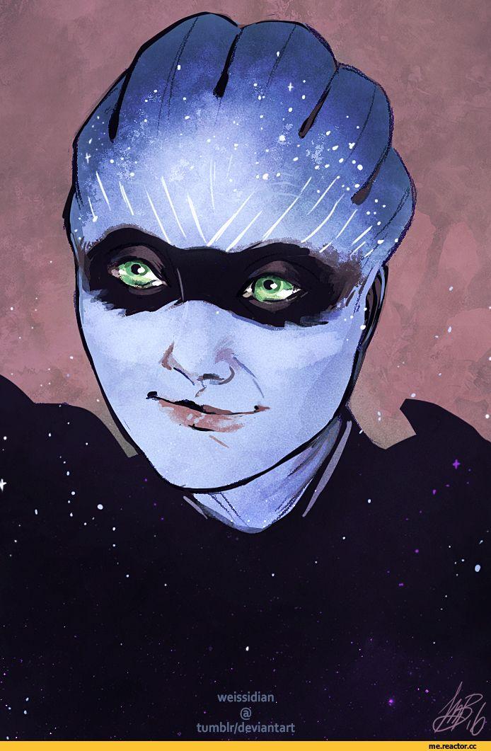 Mass Effect Andromeda,Mass Effect,фэндомы,Asari,ME расы,Weissidian
