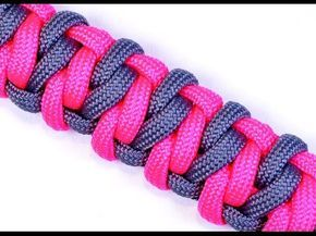 How to Make a Survival Paracord Bracelet - The Chesty Soloman - BoredParacord - YouTube