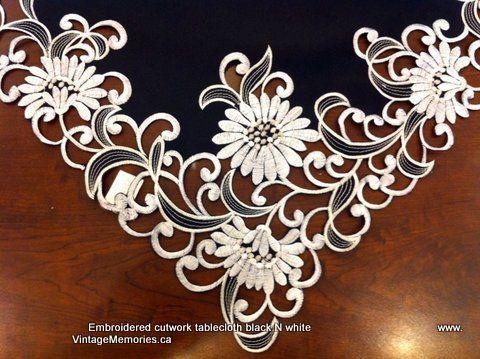 embroidery cutwork table_Pesquisa do Baidu