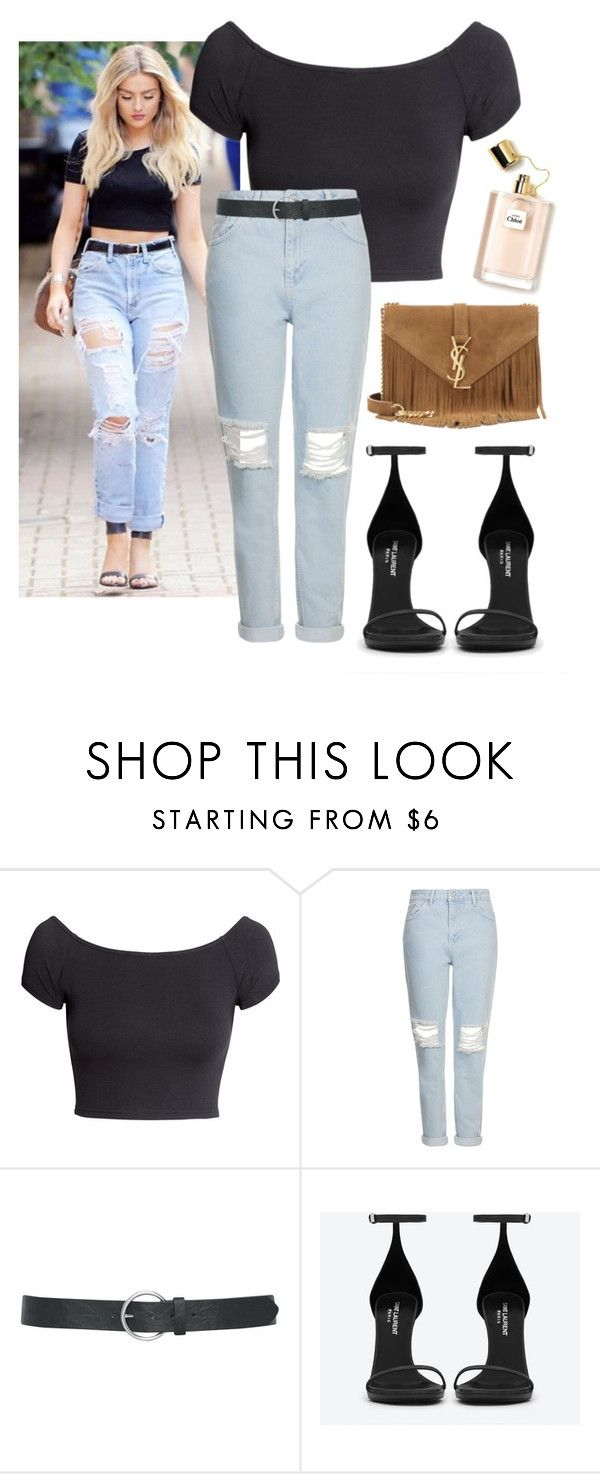 Perrie Edwards ; steal her style by zafirahx on Polyvore featuring H&M, Topshop, Yves Saint Laurent and M&Co
