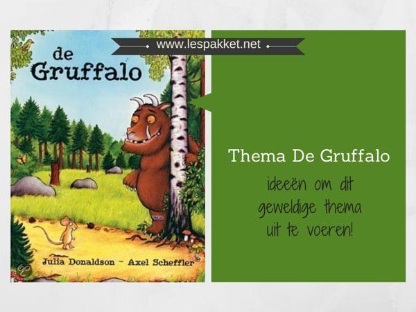 Thema De Gruffalo, past erg goed bij de herfst - Juf Bianca