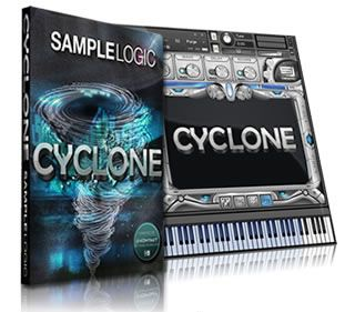 Sample Logic new release Cyclone, a new Kontakt (from Native Instruments) sample library that contains over 325 instruments, pads and cinematic harmonics instruments inspired by dubstep music style and electronic music.