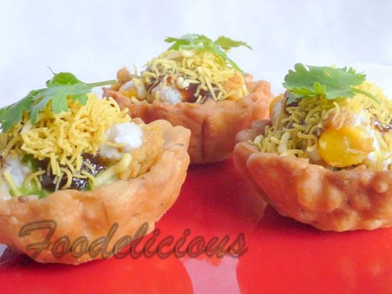 Chaat cups