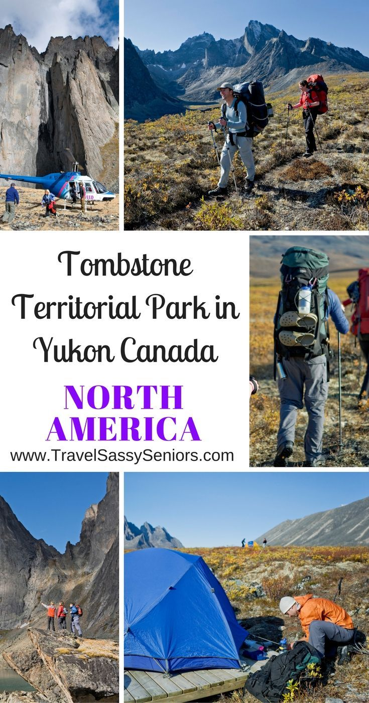 The world-famous Tombstone Territorial Park in Yukon is in and around the Ogilvie Mountain Range, north of Dawson City.
