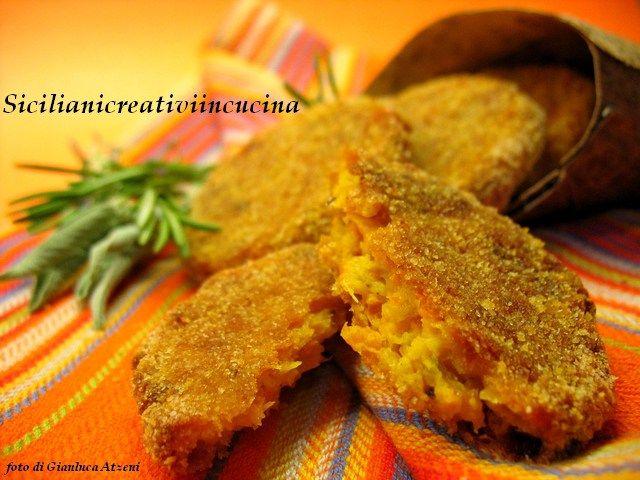 Crocchette al forno di zucca e zenzero