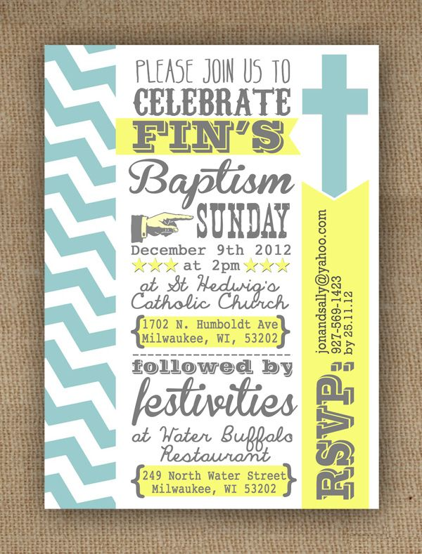 46 best baptism images on pinterest baby boy baptism baptism blog version typography modern contemporary boys christening or baptism invitation by in the treehouse stopboris Choice Image