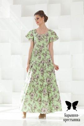 398eb2dcf24 Классические платья из натуральных тканей - магазин православного платья  Барышня-крестьянка