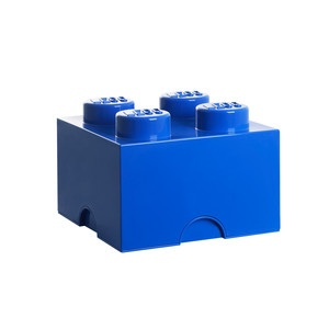 LEGO Storage Brick 4 Blue, 17€, now featured on Fab.