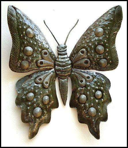 46 best Haitian Metal Bird & Butterfly Wall Hangings - Steel drum ...