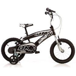 Vélo enfant BMX DINO Noir - 14 pouces