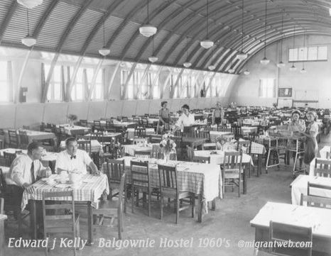 Dining room- Balgownie Hostel, NSW 1960s