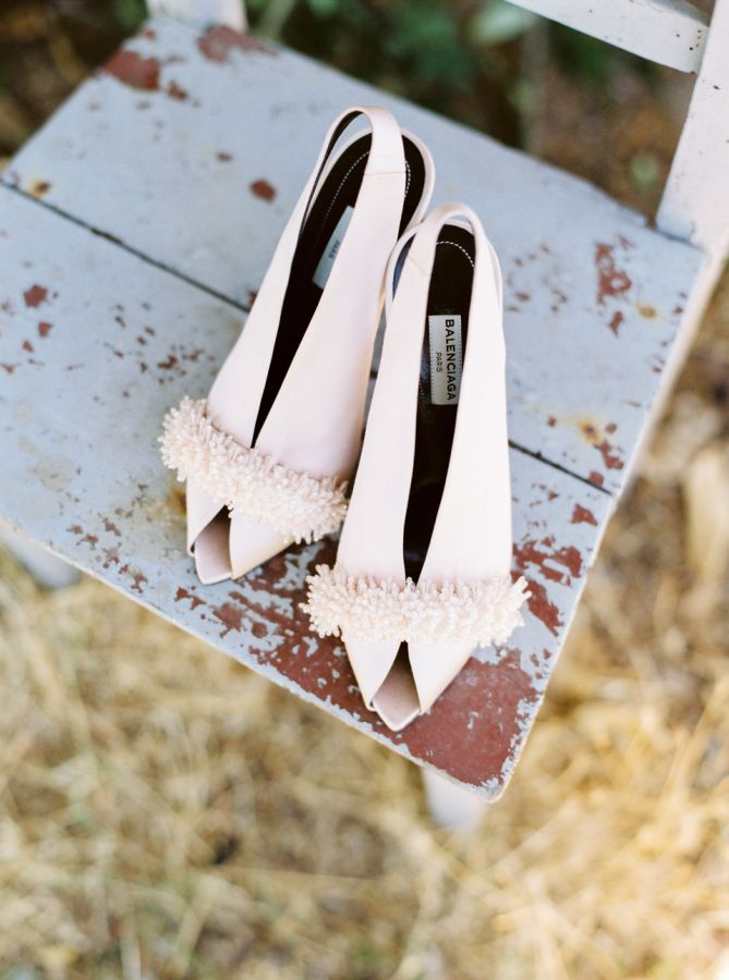 Chic Balenciaga shoes: http://www.stylemepretty.com/little-black-book-blog/2016/06/06/rustic-romantic-stylish-portuguese-wedding/ | Photography: Love Is My Favorite Color - http://www.loveismyfavoritecolor.com/