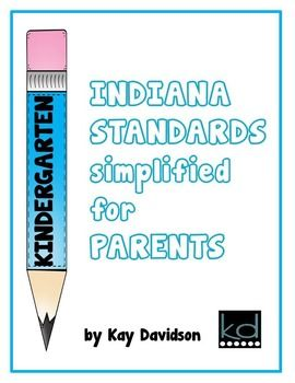 Want to show parents just how organized, accountable, and professional you are? Just in time for parent conferences--here is the parent version of the Indiana College and Career Ready Standards for your grade level! Designed to give an overview rather than an in-depth view of the standards, parents will appreciate knowing the academic expectations for this year!