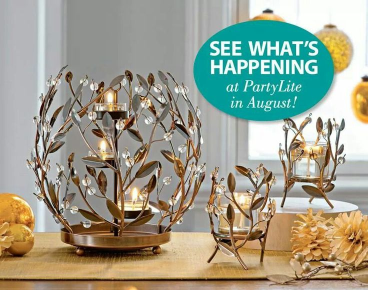 Some amazing things are now available. www.partylite.biz/angelb