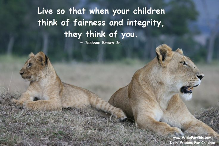 inspiring+quotes+about+children | Inspiring Mother Quotes Teaching Your Child About Integrity – Wisie ...