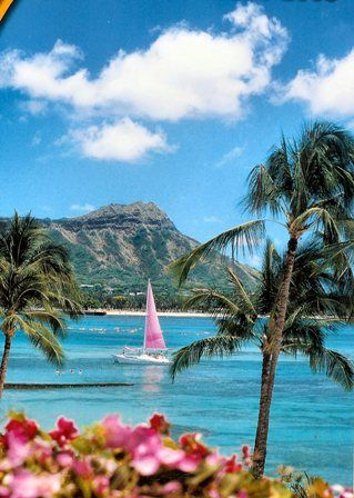 A vintage-esque view of Diamond Head....going back!!
