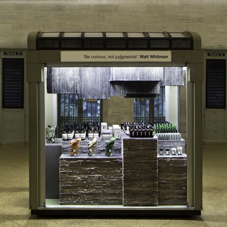 Aesop Grand Central Kiosk by Tacklebox