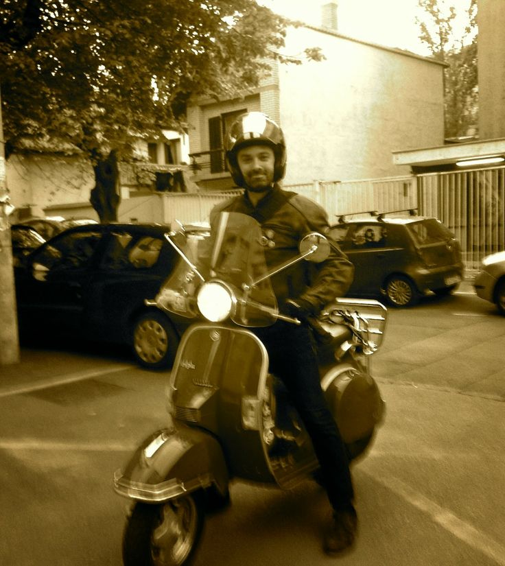 Blog update from One Steph Beyond...: Popping the Vespa Cherry