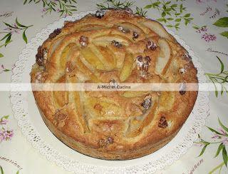 A-Mici in cucina: Torta di pere e noci