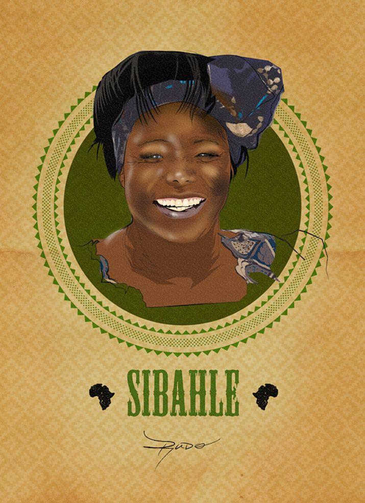 Wangari Maathai, Kenyan environmental, political activist and Nobel Peace Prize Laureate -  Phenomenal African Women Celebrated In Posters For Women's Day Okayafrica.