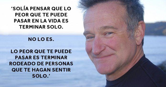 11 citas de Robin Williams que te harán ver la vida de otra forma